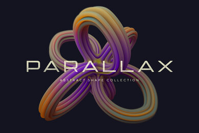 Parallax Abstract Shapes