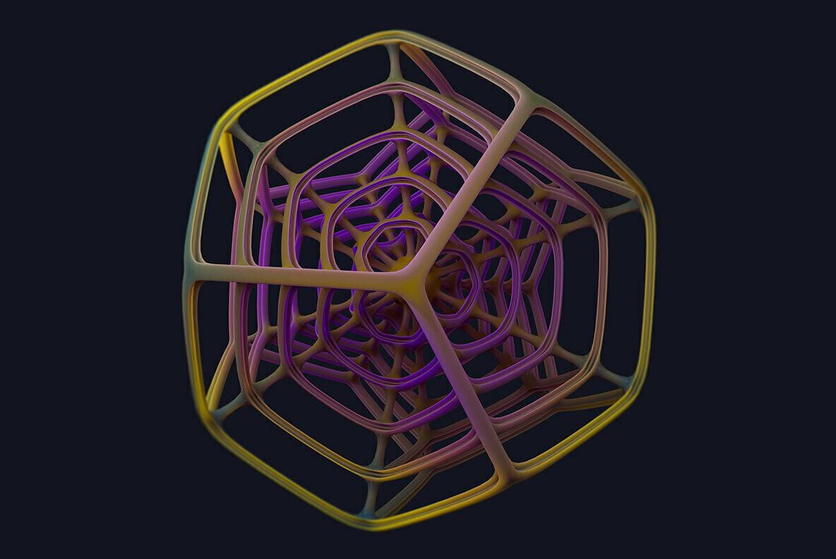 Parallax Abstract Shapes