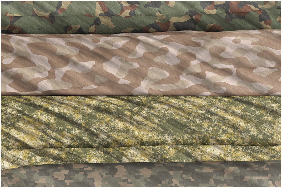 20 Camouflage Backgrounds Textures