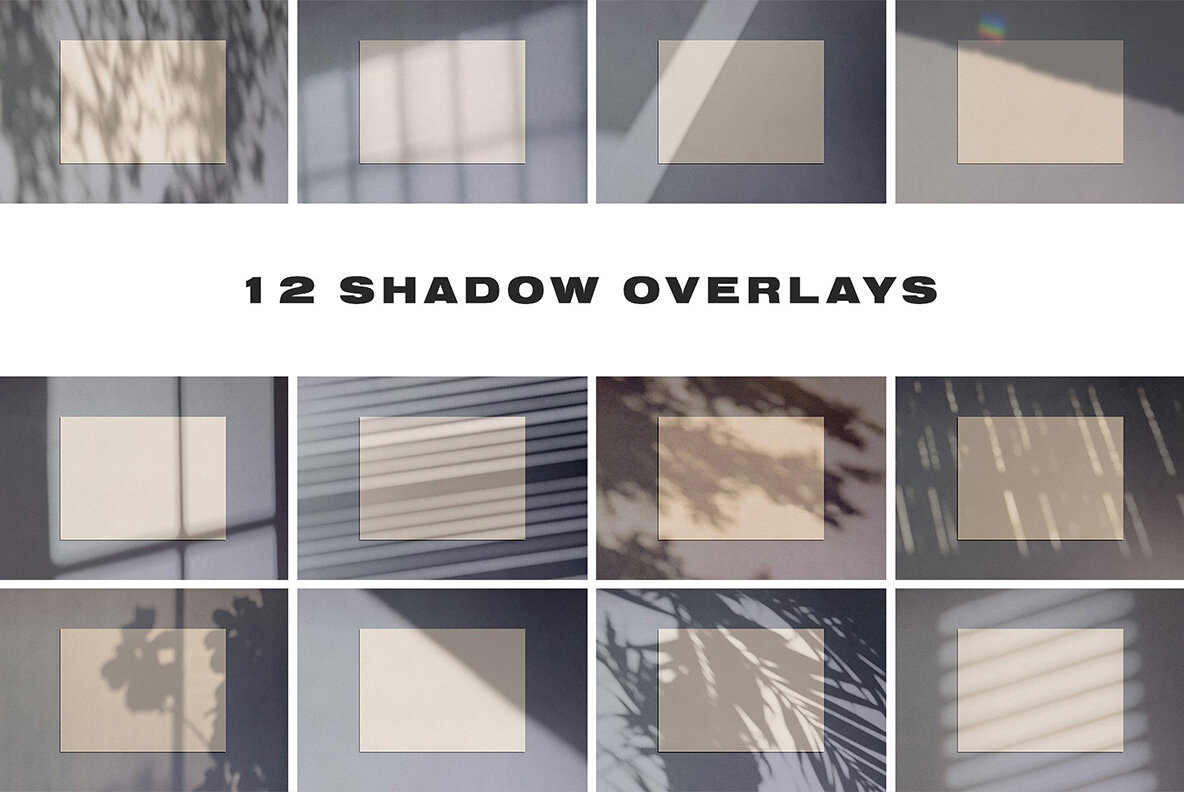 Sunray Stationery Shadow Mockups