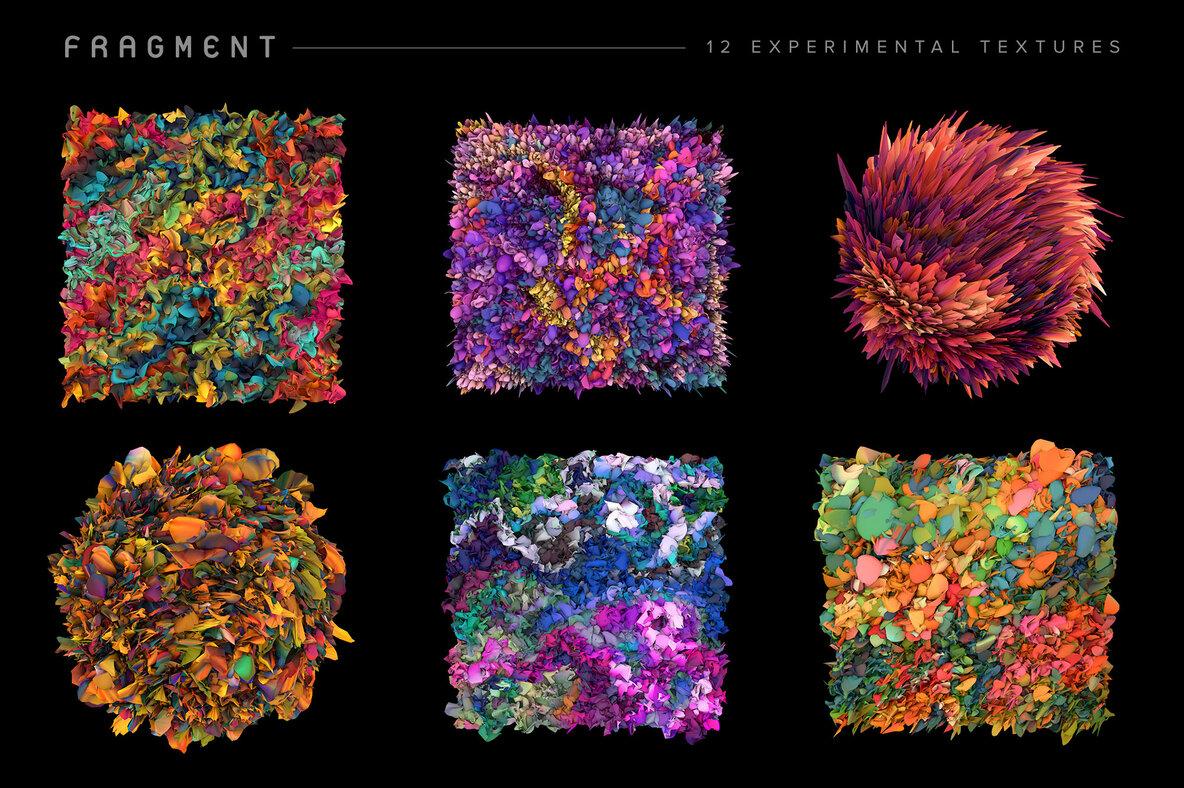 Fragment   12 Experimental Textures