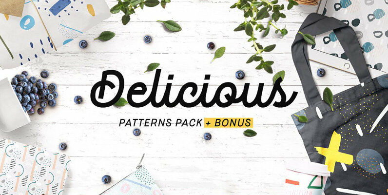 Delicious Patterns Pack