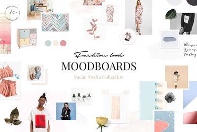 Fashion Mood Board Templates
