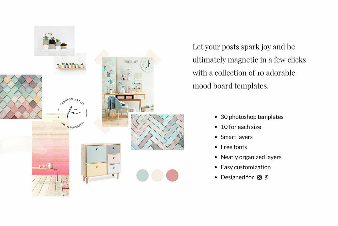 Download Fashion Mood Board Templates Gr E4661 Youworkforthem