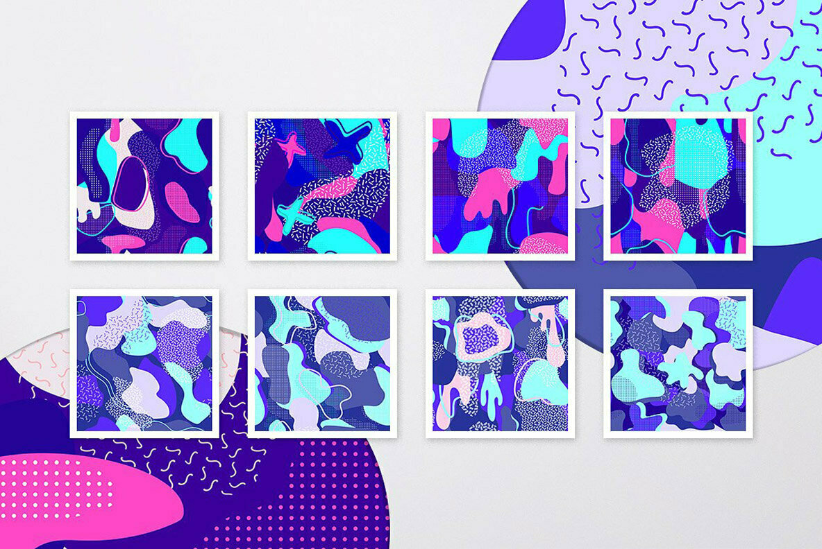 Abstract Patterns Collection