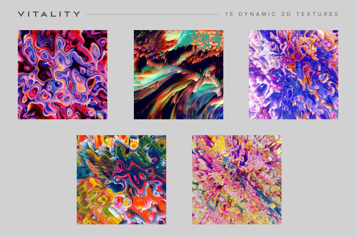 Vitality   15 Dynamic 3D Textures