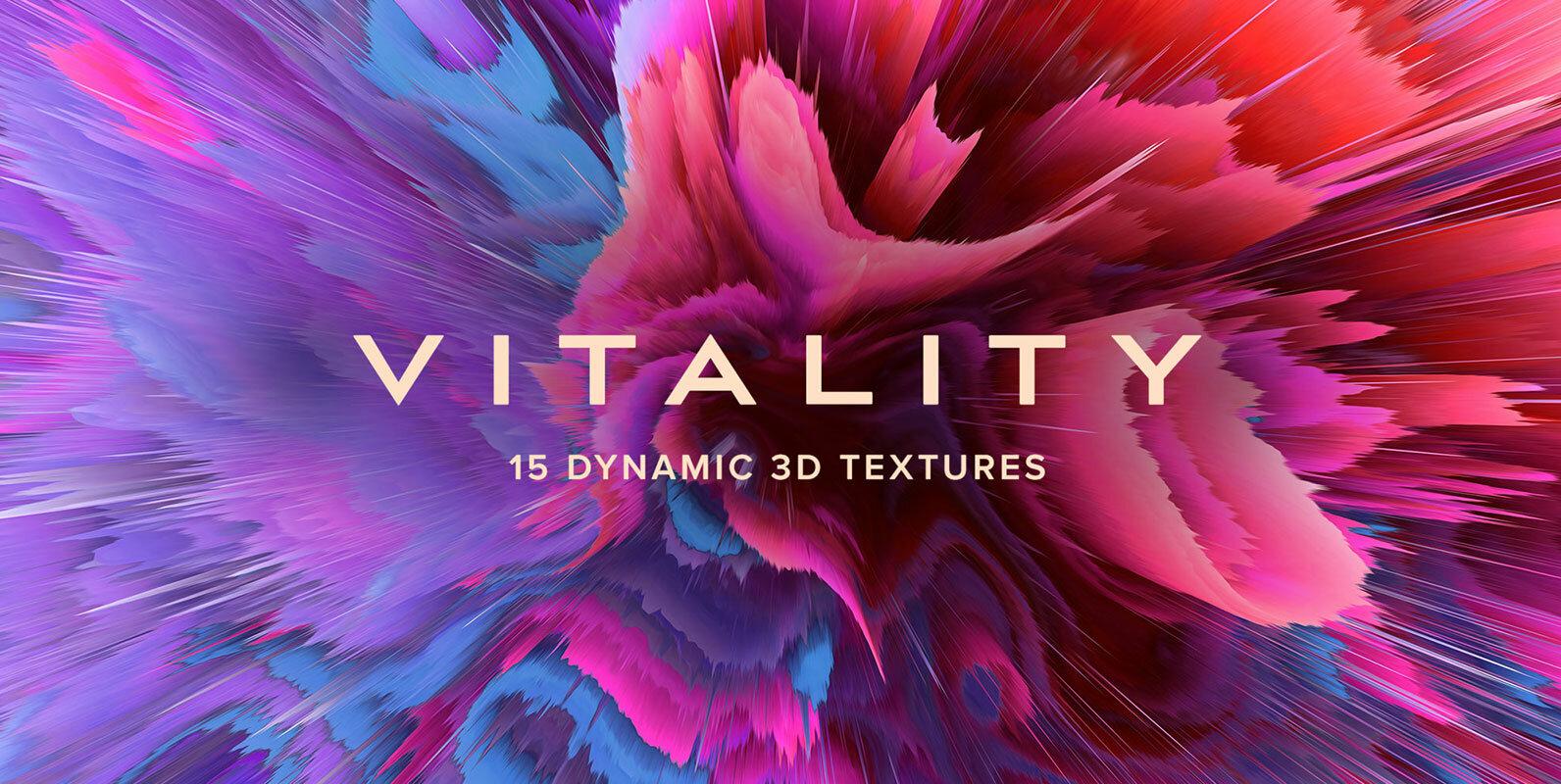 Vitality - 15 Dynamic 3D Textures
