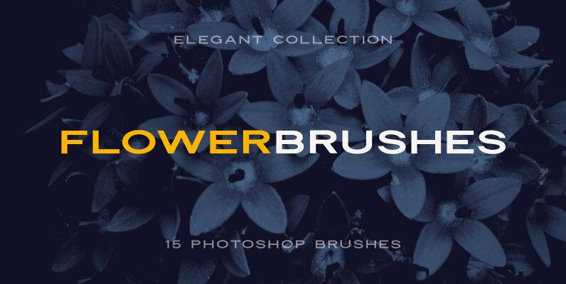 Elegant Floral Brushes for Photoshop
