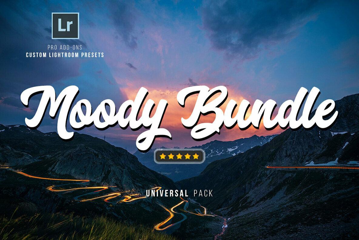 550 Moody Bundle Lightroom Presets