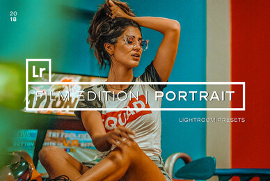 Film Portrait Lightroom Presets