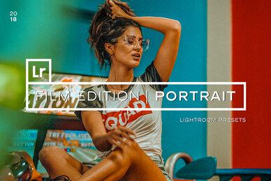 Film Portrait Lightroom Presets