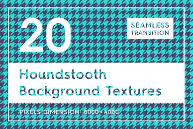 20 Houndstooth Background Textures