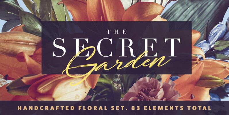 The Secret Garden   Floral Pack