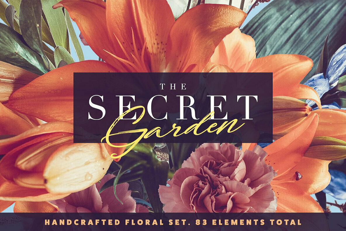 The Secret Garden   Floral Pack
