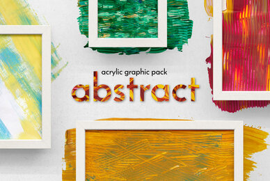 Abstract Acrylic Graphic Pack