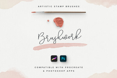 Brushwork for ProCreate  Photoshop