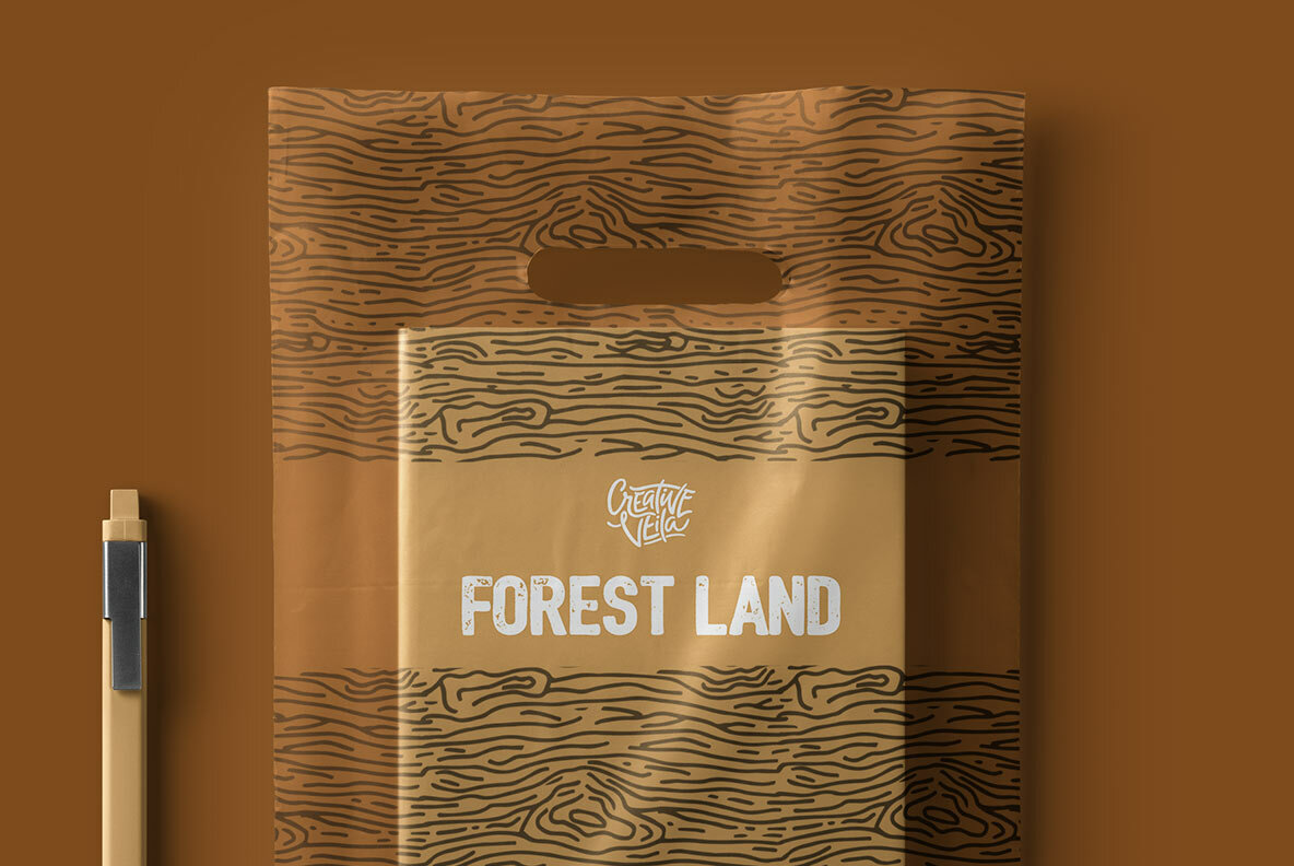 Forest Land Vector Kit