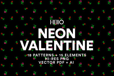 Neon Valentine