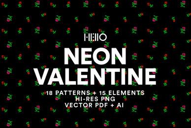 Neon Valentine