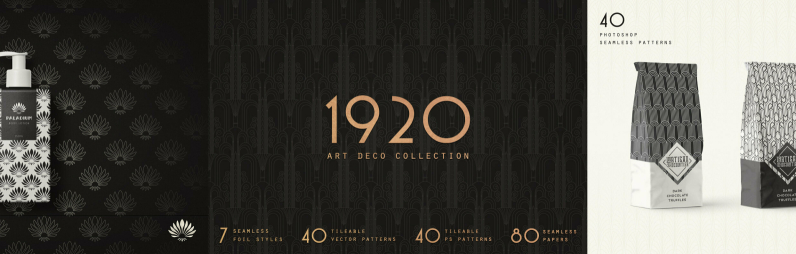 1920 Art Deco Collection