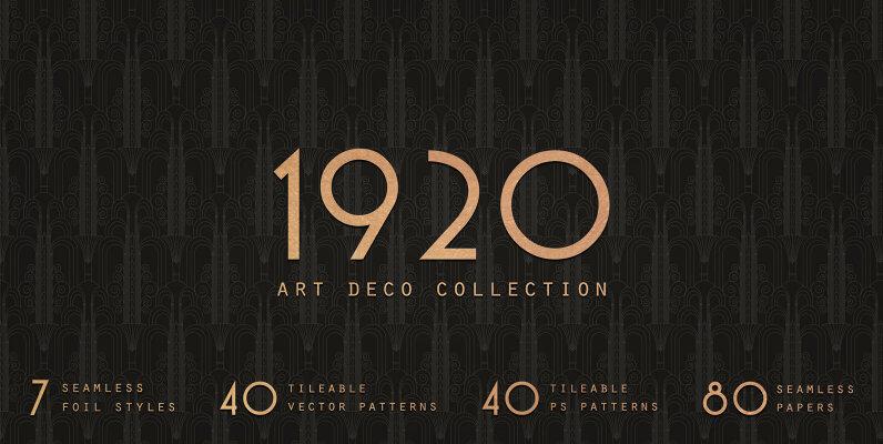 1920 Art Deco Collection
