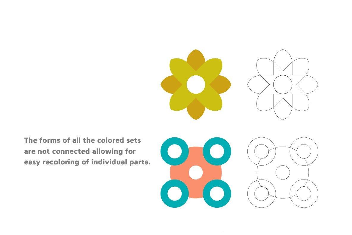 Poeta Floral Symbols