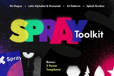 Spray Art Painter   s Toolkit