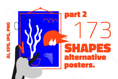 173 Alternative Shapes Poster   Part 2