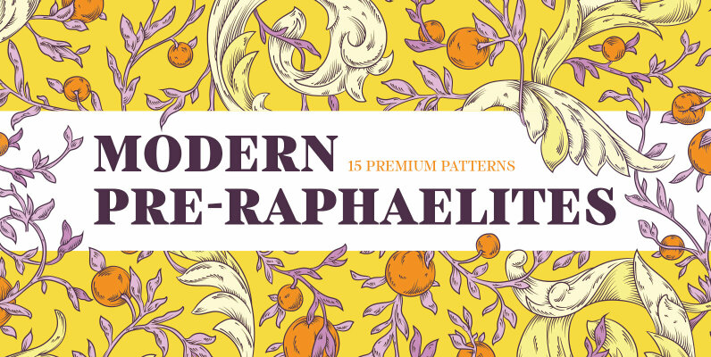 Modern Pre-Raphaelites Patterns
