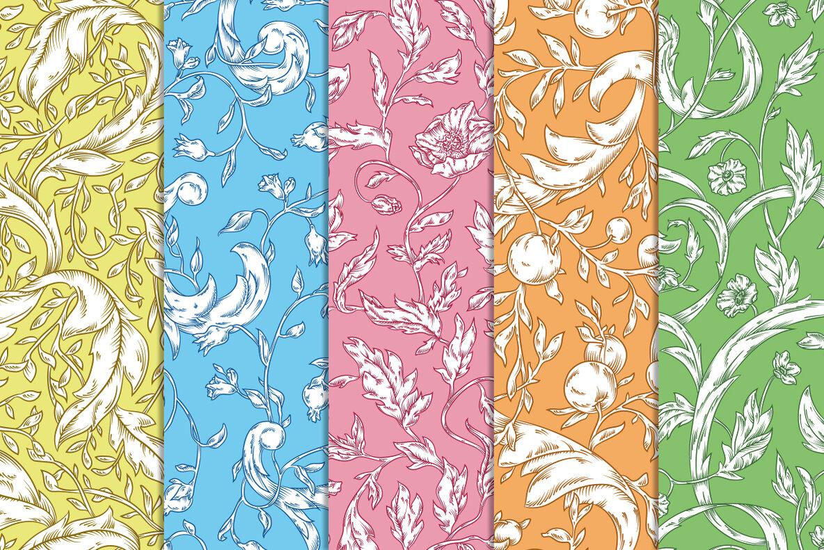 Modern Pre Raphaelites Patterns