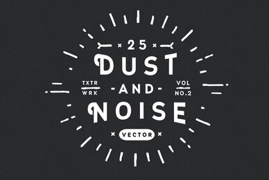 25 Dust and Noise Vector Textures Vol  2
