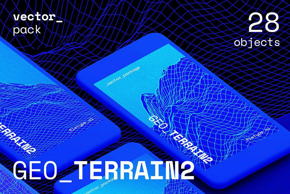 GEO TERRAIN2 Vector Pack