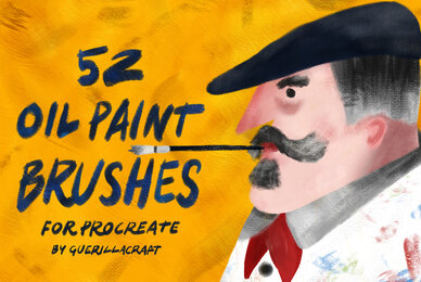 Oil Paint Brushes for Procreate