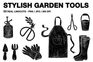 Stylish Garden Tools