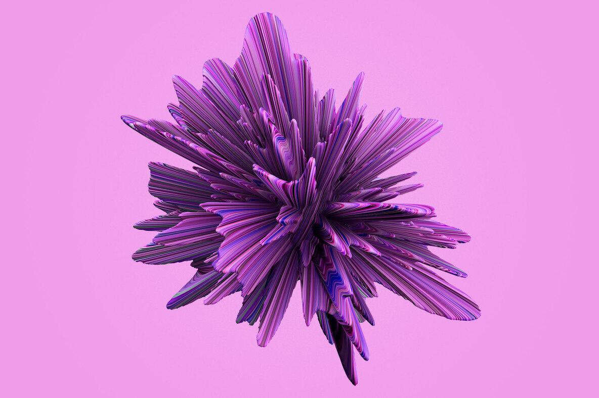 Evolve   Bursting 3D Textures