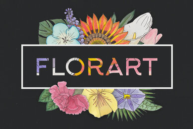 Florart Watercolor Vector Set