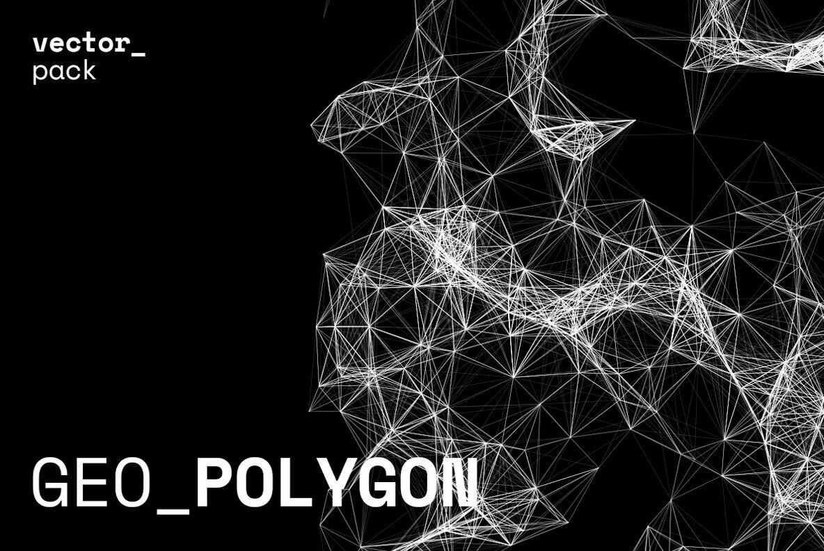 GEO POLYGON Vector Pack