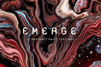Emerge   Fluid Abstract Paintings