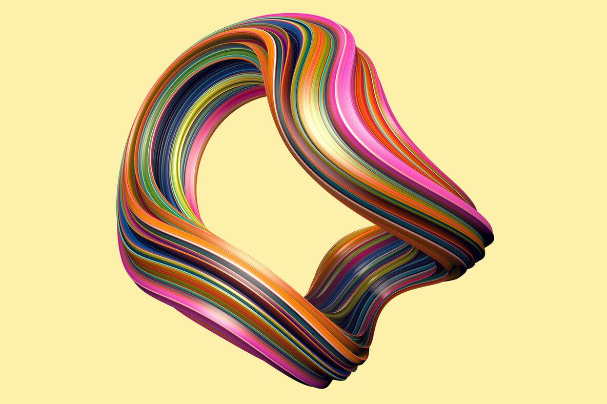 Twist   Swirling 3D Shapes