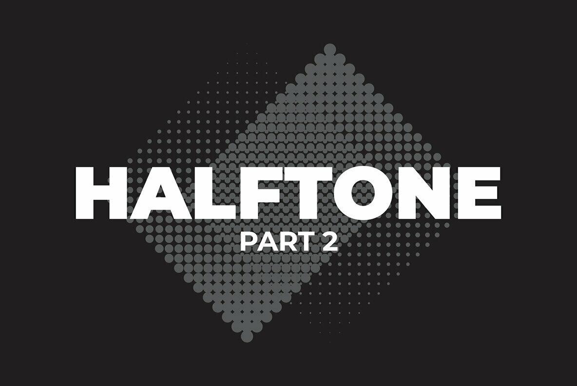 60 Vector Halftones Part 2