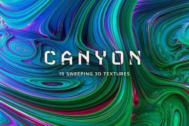 Canyon   Sweeping 3D Textures