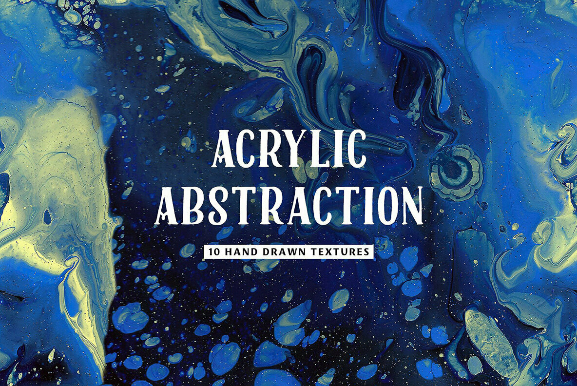 Acrylic Abstract Textures