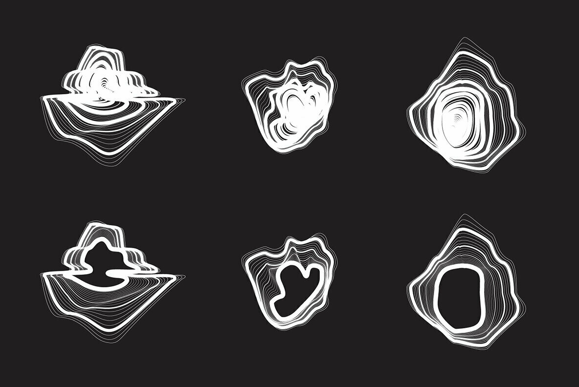 18 Vector Distortion Shapes