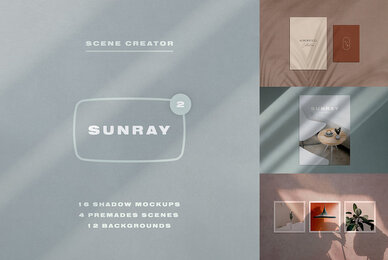 Sunray 2   Stationery Shadow Mockups