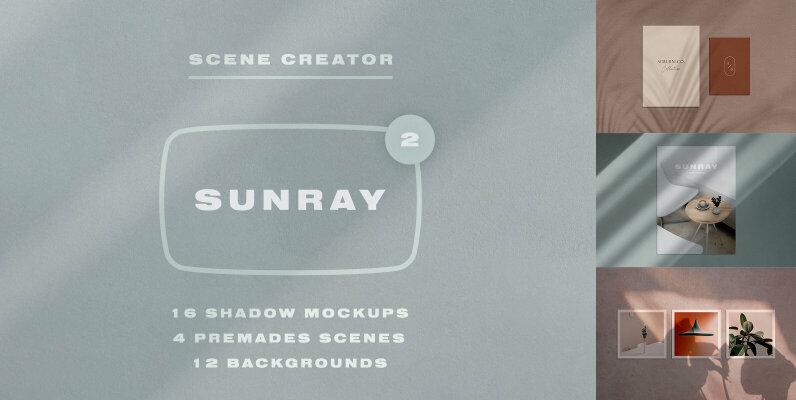 Sunray 2   Stationery Shadow Mockups