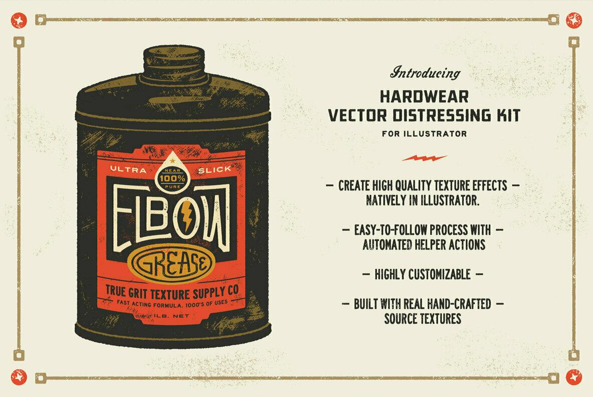 Hardwear Vector Distressing Kit