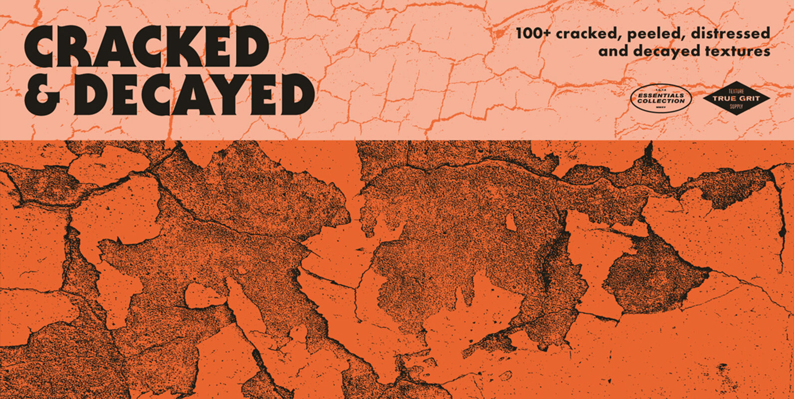Cracked And Decayed Textures