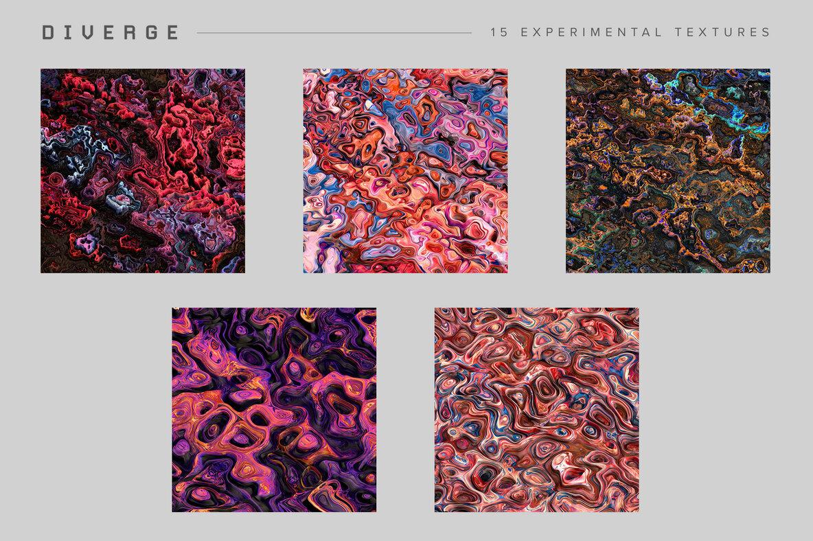 Diverge   15 Experimental Textures