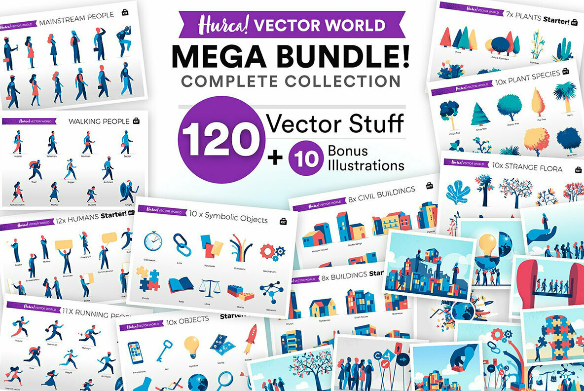Vector World Complete Collection