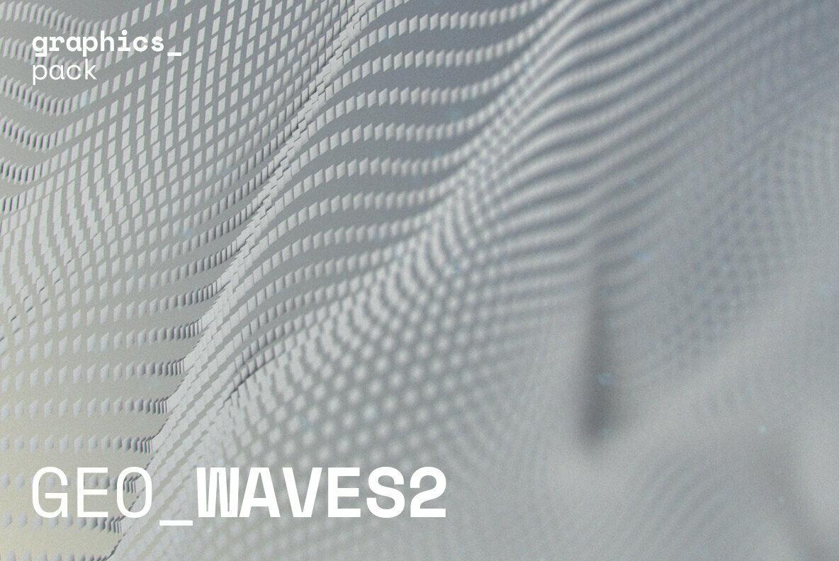 GEO WAVES2 Vector Pack